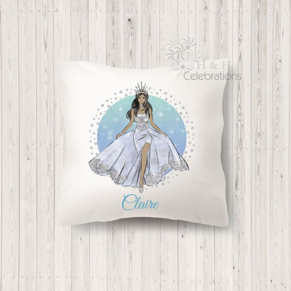 Ice Queen Personalised Keepsake Cushion